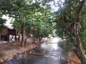 river near our chalet